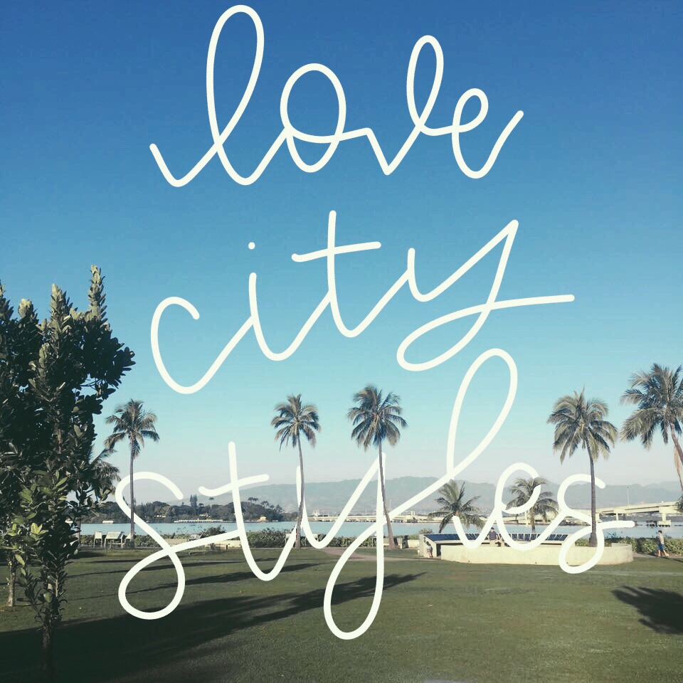 love, city styles